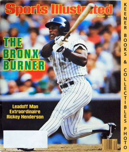 Image for Sports Illustrated Magazine, July 28, 1986 (Vol 65, No. 4) : The Bronx Burner - Leadoff Man Extraordinaire Rickey Henderson