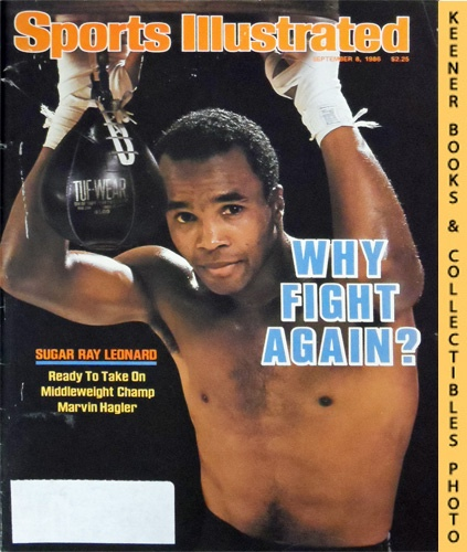 Image for Sports Illustrated Magazine, September 8, 1986 (Vol 65, No. 11) : Why Fight Again! Sugar Ray Leonard, Ready To Take On Middleweight Champ Marvin Hagler