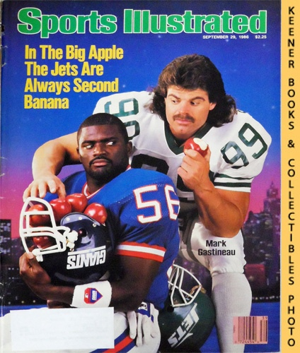 Image for Sports Illustrated Magazine, September 29, 1986 (Vol 65, No. 14) : Mark Gastineau & Lawrence Taylor - In The Big Apple The Jets Are Always Second Banana