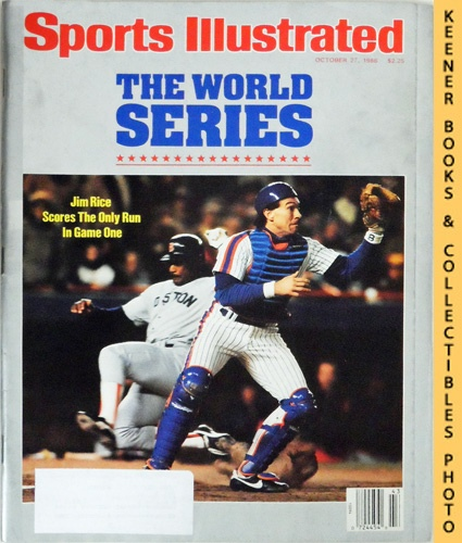 Image for Sports Illustrated Magazine, October 27, 1986 (Vol 65, No. 18) : The World Series - Jim Rice Scores The Only Run In Game One