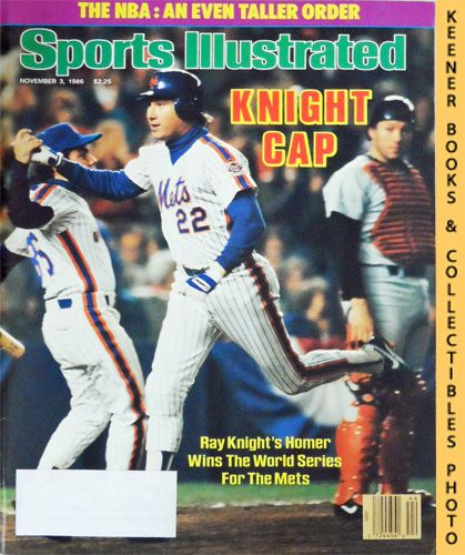 Image for Sports Illustrated Magazine, November 3, 1986 (Vol 65, No. 19) : Knight Gap - Ray Knight's Homer Wins The World Series For The Mets