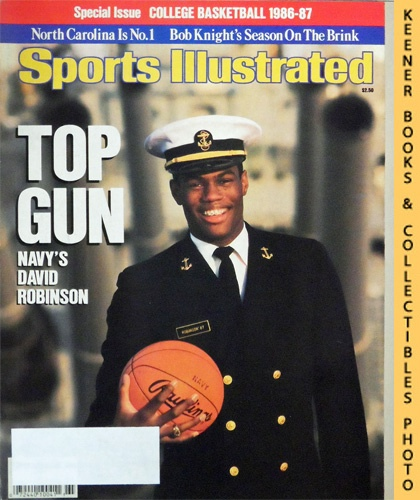 Image for Sports Illustrated Magazine, November 19, 1986 (Vol 65, No. 22) Special Issue : Top Gun - Navy's David Robinson