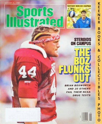 Image for Sports Illustrated Magazine, January 5, 1987 (Vol 66, No. 1) : The Boz Flunks Out - Brian Bosworth - Steroids On Campus