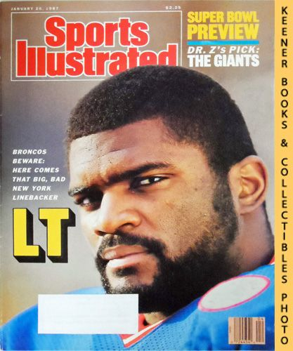 Image for Sports Illustrated Magazine, January 26, 1987 (Vol 66, No. 4) : Super Bowl Preview - Dr. Z's Pick: The Giants