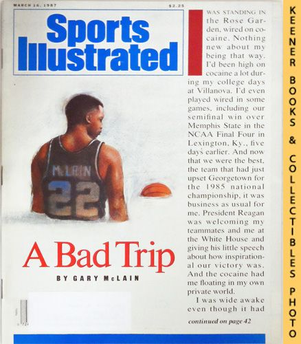 Image for Sports Illustrated Magazine, March 16, 1987 (Vol 66, No. 11) : A Bad Trip