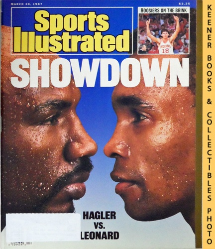 Image for Sports Illustrated Magazine, March 30, 1987 (Vol 66, No. 13) : Showdown - Hagler vs. Leonard