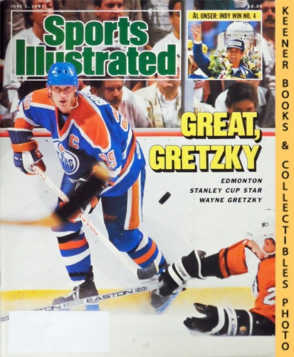 Image for Sports Illustrated Magazine, June 1, 1987 (Vol 66, No. 22) : Great Gretzky - Edmonton Stanley Cup Star Wayne Gretzky