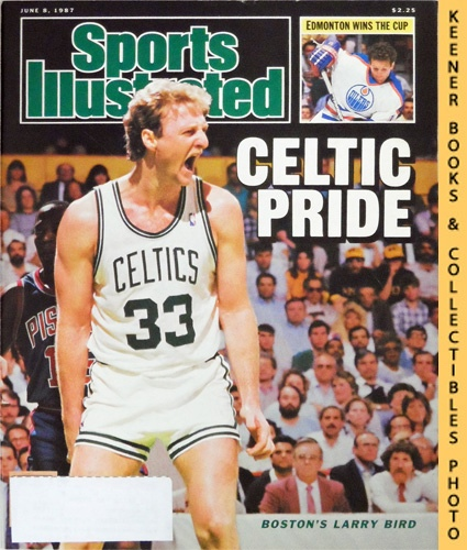 Image for Sports Illustrated Magazine, June 8, 1987 (Vol 66, No. 23) : Celtic Pride - Boston's Larry Bird