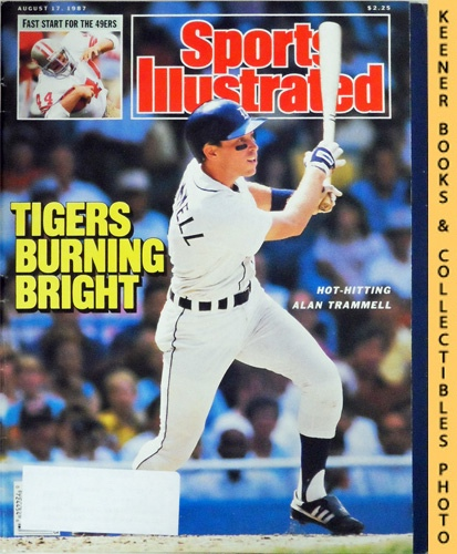 Image for Sports Illustrated Magazine, August 17, 1987 (Vol 67, No. 7) : Tigers Burning Bright - Hot-Hitting Alan Travvell
