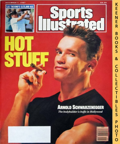Image for Sports Illustrated Magazine, December 7, 1987 (Vol 67, No. 25) : Hot Stuff - Arnold Schwarzenegger
