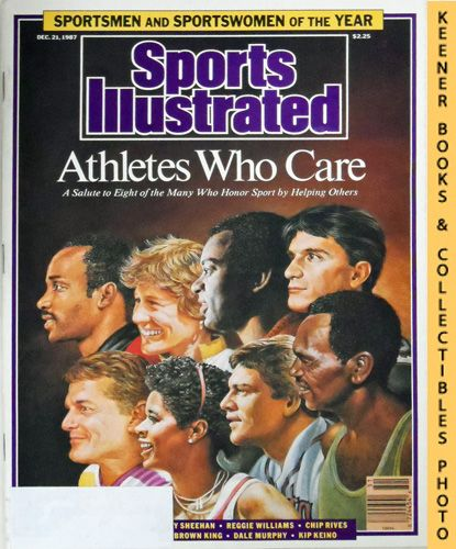 Image for Sports Illustrated Magazine, December 21, 1987 (Vol 67, No. 27) : Athletes Who Care
