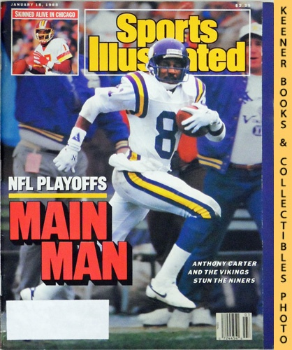 Image for Sports Illustrated Magazine, January 18, 1988 (Vol 68, No. 2) : NFL Playoffs Main Man - Anthony Carter And The Vikings Stun The Niners