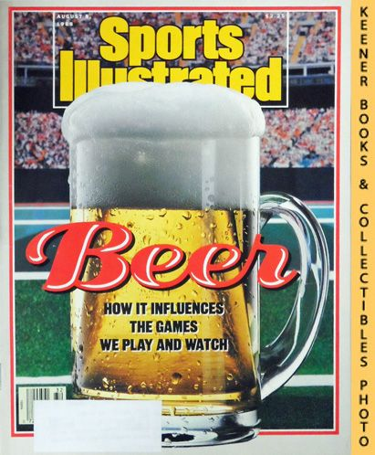 Image for Sports Illustrated Magazine, August 8, 1988 (Vol 69, No. 6) : Beer - How It Influences The Games We Play And Watch