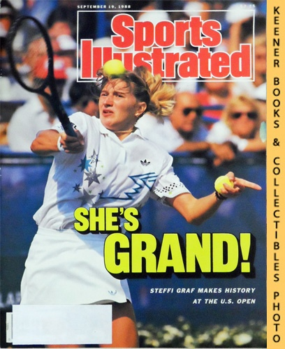 Image for Sports Illustrated Magazine, September 19, 1988 (Vol 69, No. 13) : She's Grand! Steffi Graf Makes History At The U.S. Open