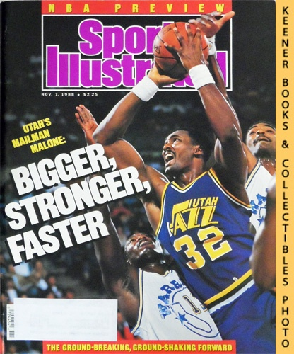 Image for Sports Illustrated Magazine, November 7, 1988 (Vol 69, No. 20) : Utah's Mailman Malone - Bigger, Stronger, Faster