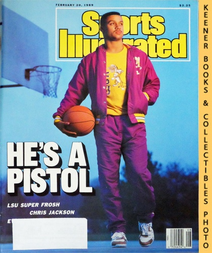 Image for Sports Illustrated Magazine, February 20, 1989 (Vol 70, No. 8) : He's A Pistol - LSU Super Frosh Chris Jackson