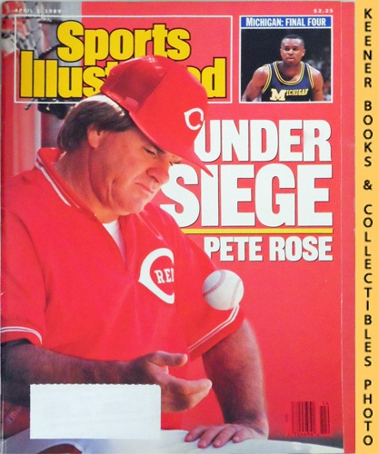 Image for Sports Illustrated Magazine, April 3, 1989 (Vol 70, No. 14) : Pete Rose Under Siege