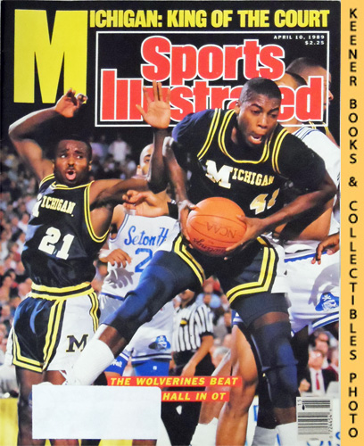Image for Sports Illustrated Magazine, April 10, 1989 (Vol 70, No. 16) : Wolverines Beat Seton Hall