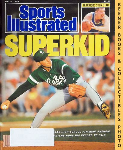 Image for Sports Illustrated Magazine, May 8, 1989 (Vol 70, No. 20) : Superkid - Jon Peters