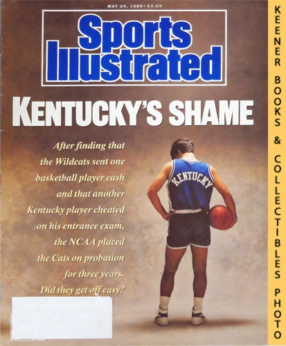 Image for Sports Illustrated Magazine, May 29, 1989 (Vol 70, No. 23) : Kentucky's Shame - Wildcats