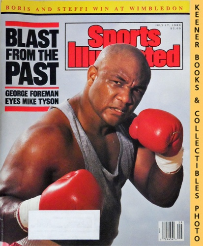 Image for Sports Illustrated Magazine, July 17, 1989 (Vol 71, No. 3) : Blast From The Past - George Foreman Eyes Mike Tyson