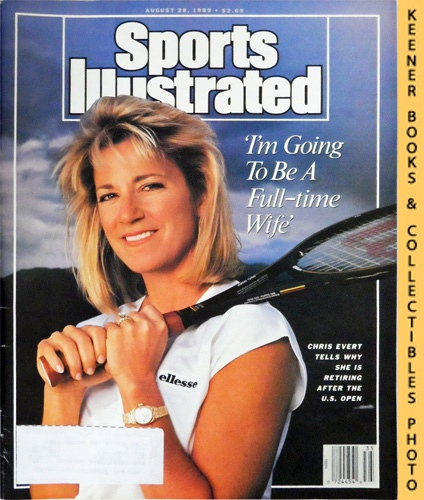 Image for Sports Illustrated Magazine, August 28, 1989 (Vol 71, No. 9) : Chris Evert