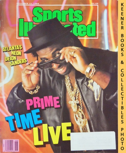 Image for Sports Illustrated Magazine, November 13, 1989 (Vol 71, No. 20) : Atlanta's Neon Deion Sanders