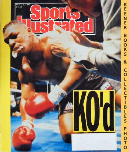 Image for Sports Illustrated Magazine, February 19, 1990 (Vol 72, No. 7) : Mike Tyson KO'd
