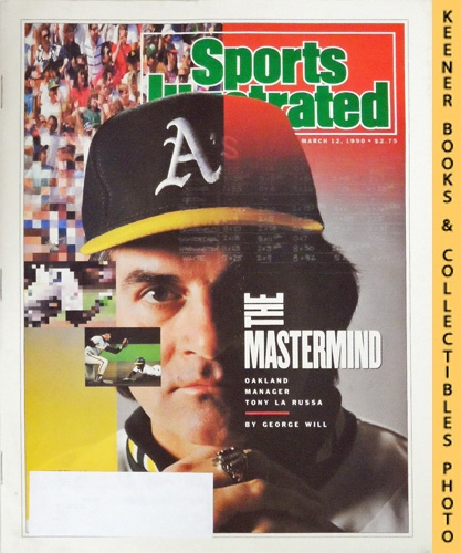 Image for Sports Illustrated Magazine, March 12, 1990 (Vol 72, No. 10) : Oakland Manager Tony La Russa