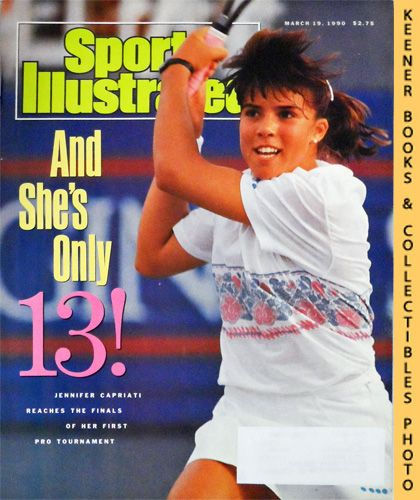 Image for Sports Illustrated Magazine, March 19, 1990 (Vol 72, No. 11) : Jennifer Capriati