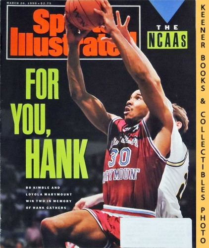 Image for Sports Illustrated Magazine, March 26, 1990 (Vol 72, No. 12) : Bo Kimble And Loyola Marymount Win Two In Memory Of Hank Gathers