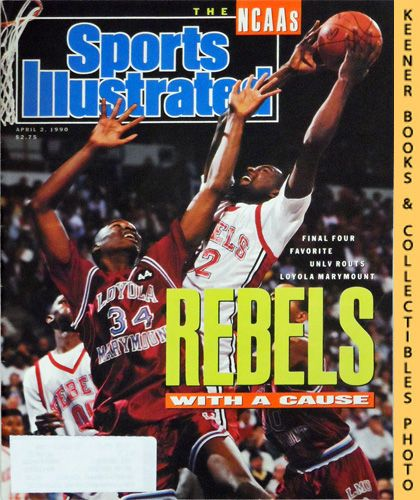 Image for Sports Illustrated Magazine, April 2, 1990 (Vol 72, No. 14) : Final Four Favorite UNLV Routs Loyola Marymount