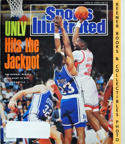Image for Sports Illustrated Magazine, April 9, 1990 (Vol 72, No. 15) : Runnin' Rebels Rout Duke To Win The NCAA Title