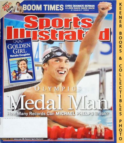 Image for Sports Illustrated Magazine, August 23, 2004 (Vol 101, No. 7) : Michael Phelps - Olympic Medal Man