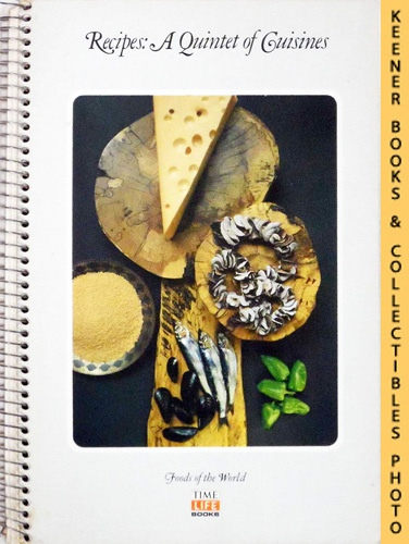 Image for Recipes: A Quintet Of Cuisines: Foods Of The World Series
