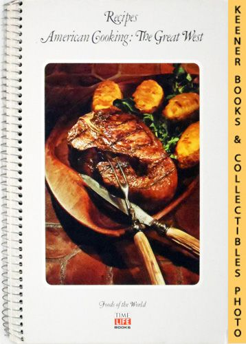 Image for Recipes: American Cooking: The Great West: Foods Of The World Series
