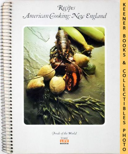 Image for Recipes: American Cooking: New England: Foods Of The World Series