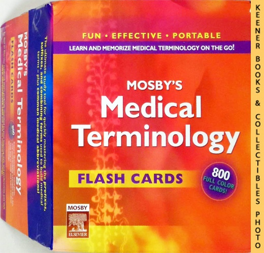 Image for Mosby's Medical Terminology Flash Cards, 1E
