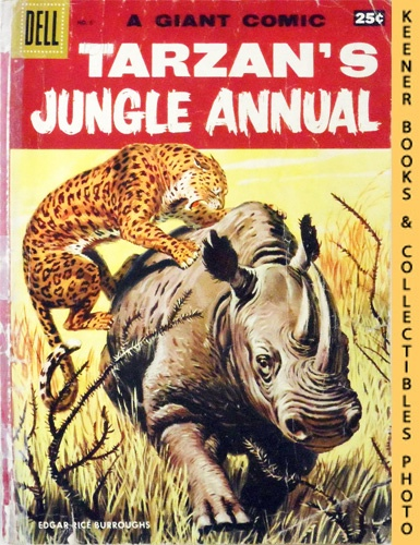 Image for Tarzan's Jungle Annual #6 - 1957 : A Giant Comic