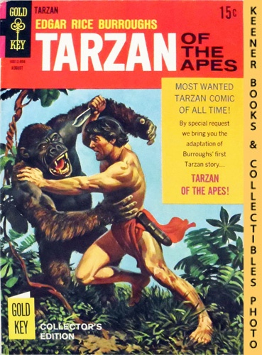 Image for Tarzan Of The Apes, No. 178, August 1968 : Collector's Edition