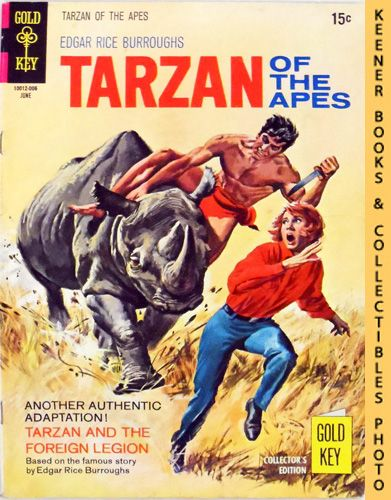Image for Tarzan Of The Apes, No. 192, June 1970