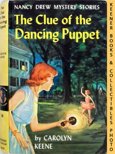 Image for The Clue Of The Dancing Puppet: Nancy Drew Mystery Stories Series
