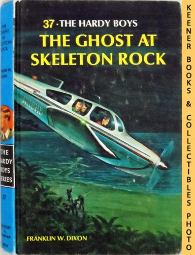 Image for The Ghost At Skeleton Rock: The Hardy Boys Mystery Stories Series