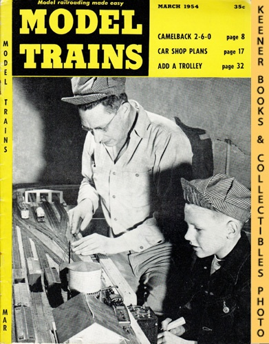 Image for Model Trains Magazine, March 1954 (Vol. 7, No. 1)