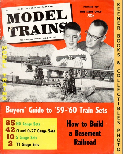 Image for Model Trains Magazine, December 1959 (Vol. 12, No. 6)