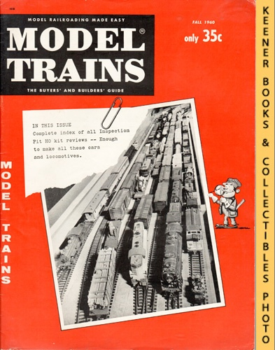 Image for Model Trains Magazine, Fall 1960 (Vol. 13, No. 5)