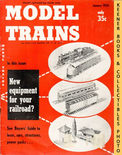 Image for Model Trains Magazine, January 1956 (Vol. 8, No. 11)