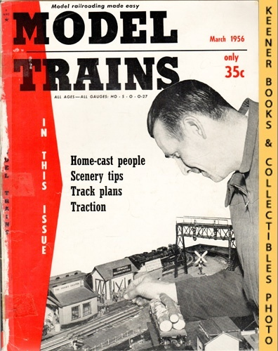 Image for Model Trains Magazine, March 1956 (Vol. 9, No. 1)