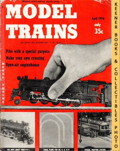 Image for Model Trains Magazine, April 1956 (Vol. 9, No. 2)