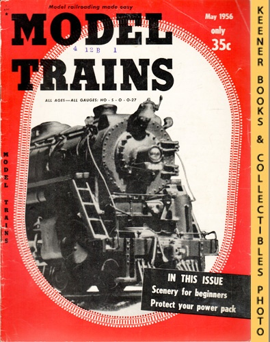 Image for Model Trains Magazine, May 1956 (Vol. 9, No. 3)